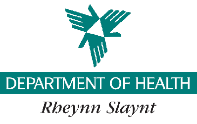 Department of Health Isle of Man logo